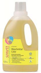 Sonett органическое жидкое стиральное средство для цветных тканей. 1, 5л. Ко