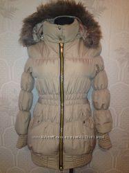Очень модная брендовая высококачественая удлиненая куртка