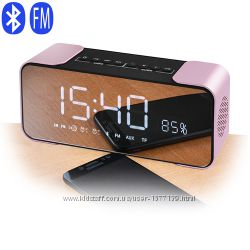 Портативная Bluetooth-колонка PTH-305, радио, часы, будильник, speakerphone
