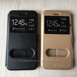 Золотой или черный чехол книжечкой Nilkin для iPhone 6 6S на магните