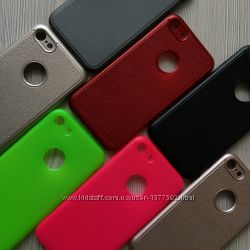 Матовый силиконовый чехол iphone 6 6S и 7 8 в фирменной упаковке