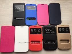 Чехол вертикальным открыванием Samsung Galaxy S3 i9300, S3 Duos