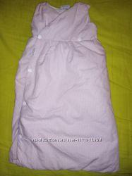 Пуховый спальный мешок, спальник, слиппик для новорожденных