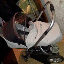 Детская коляска coletto matteo 2 в 1, легкая и практичная, вес 12 кг