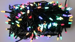 Новорічна гірлянда Конус-рис LED на 100 лампочок. Новогодняя гирлянда