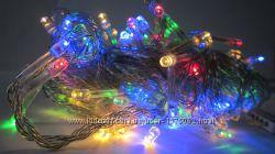 Новорічна гірлянда Нитка LED на 100 лампочок. Новогодняя гирлянда