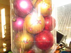 Игрушки, шары на елку
