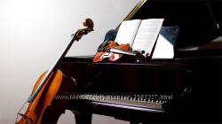 Уроки вокала, игры на фортепиано, гитаре, скрипке, ударных, саксофоне