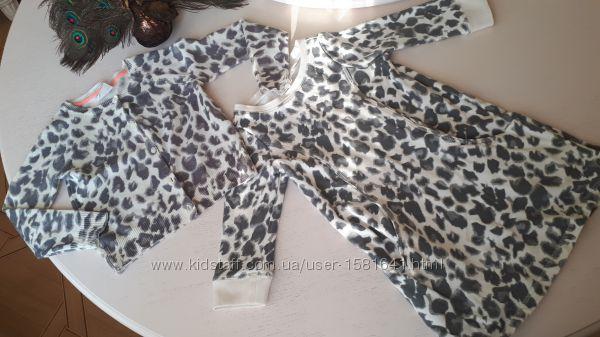Платье реглан кофта лео Crazy8, размер S 5-6 лет, 104-116 см, теплое кардиг