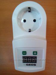 Розетка термостат с защитой от перепадов 220 вольт