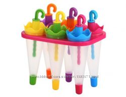 Формочки для мороженого Зонтики 6 штук
