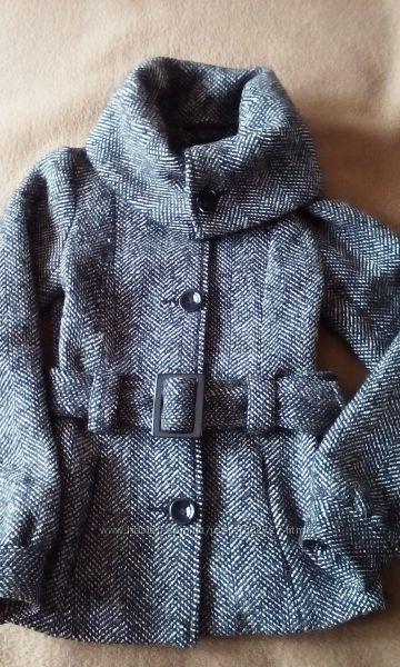 Пальто суконное утеплённое для девочки
