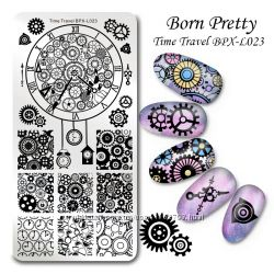 Продам пластину для стемпинга  Born Pretty оригинал и Harunouta.