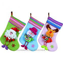 Рождественские носки декор