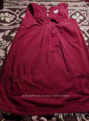 вельветовый сарафан-платье р. 104