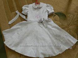 Стильне плаття для юних леді з комірчиком