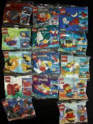 Мини упаковки конструктора Lego оригинал новые много фигурки животных машин