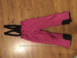 Штаны лыжные зимние фиолетовые для девочки на рост 152см
