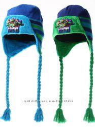 Шапки тёплые зима 52-54 см Disney ниндзя черепашки оригинал