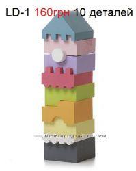 Деревянные пирамидки Cubika Кубика