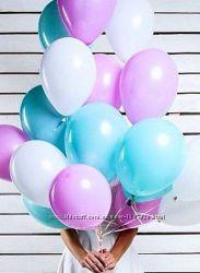 Шарики латексные надувные гелиевые на праздник воздушные шары Gemar