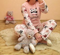 Теплая женская пижама