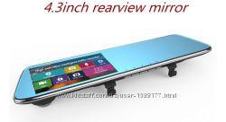 Зеркало с видео регистратором DVR L907  L909 Full HD с камерой заднего вид