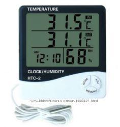 Термометр-гигрометр HTC-2 с выносным датчиком