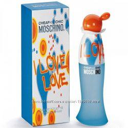 Moschino I Love Love Москино женская копия