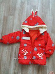 Демисезонная куртка для девочки 2Т 86-92