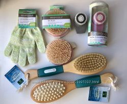 EcoTools, Earth Therapeutics, Мочалка-перчатки, Массажная щётка