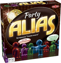 Настольная игра Alias Party. Алиас Пати  Алиас для Вечеринок Оригинал