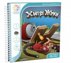 Дорожня магнитна  гра Хитрi  Жуки Smart Game  Деловые Жуки