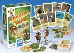 настiльна гра IQ Планета тварин от GRANNA