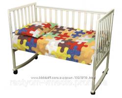 Комплект постільної білизни   для дитини бязь Пазли01 ТМ РУНО