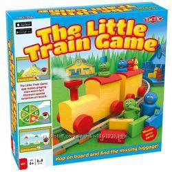 Настольная игра конструктор  Мой Первый Поезд. Бренд Tactic