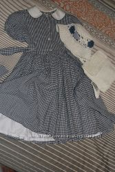французское платье  аксессуары для девочки