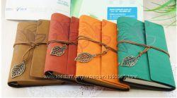 Продам винтажные блокноты формата А6 в замшевой обложке.