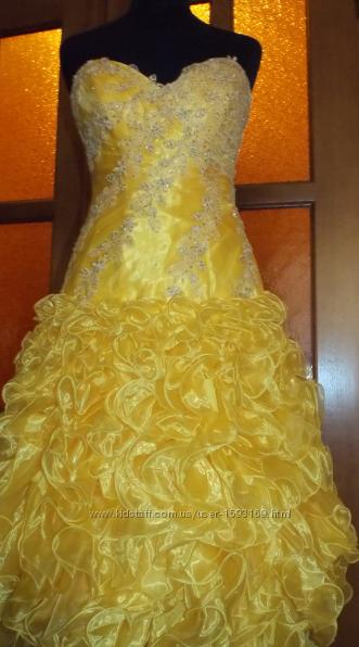 Шикарное вечернее, выпускное платье