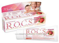 Гель для укрепления зубов R. O. C. S. Medical Minerals для детей и подростков