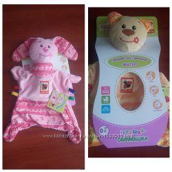 Игрушка для детей с рождения, для самых маленьких, обнимашка сплюшка