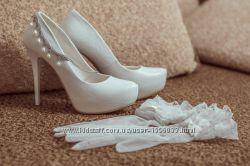 Свадебные туфли, туфли на выпускной