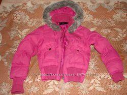 Куртка зимняя короткая фирмы Y. D на девочку, возраст 811 лет