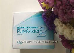 Контактные линзы PureVision 2 упаковка 6 линз