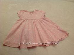 Платье на девочку 9-12 месяцев.