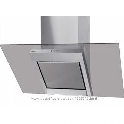 Вытяжка кухонная 60 см наклонная нерж. стекло тонир. Польша