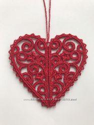 Сердечко-підвіска на 14 лютого