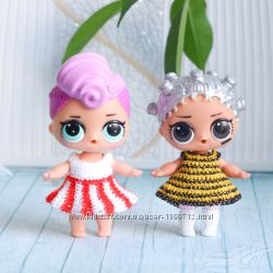 Вязаная одежда для кукол Лол LOL surprise