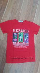 Стильные футболочки Hermes и YSL