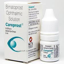 Карепрост, Careprost, для роста ресниц, 3 мл, Индия